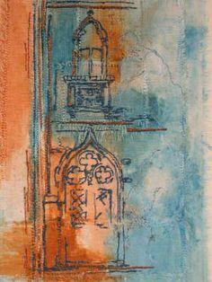 Wendy Dolan A Level Textiles, Building Art, A Level Art, Contemporary Quilts, Environmental Art, Textile Artists, Art Sketchbook, Fabric Art, Indian Art
