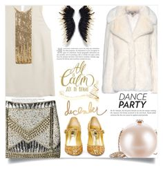 """""""Dance Party!"""" by dolly-valkyrie ❤ liked on Polyvore featuring Dsquared2, Red Or Dead, STELLA McCARTNEY, Chanel, Dolce&Gabbana, Heidi Swapp and danceparty"""