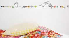 Funny Wall Frieze Designs for Kids' Rooms