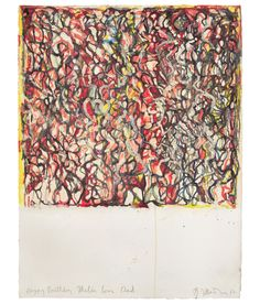 Brice Marden / African Drawing 13