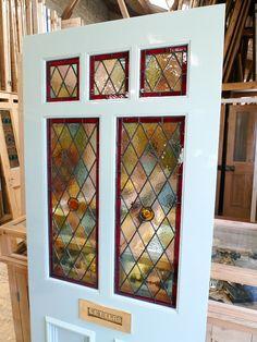 Diamond tudor window pattern decorative window film window treatment pinterest bureau - Film occultant fenetre decorative ...
