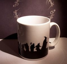 Thorin and Company Hobbit themed coffee mug on Wanelo