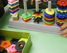 Bandes pour abaques de tri Petite Section, Education And Development, Kids Education, Montessori Math, Gross Motor Activities, Educational Toys For Kids, Brain Teasers, Childcare, Kindergarten