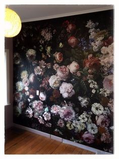 Picture – Home Office Wallpaper Living Room Decor, Bedroom Decor, Wall Decor, Dining Room, Floral Wall Art, Beauty Room, Wall Wallpaper, Wall Murals, Decoration