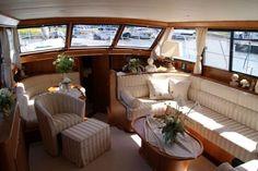 Inside  Van der Heijden 1500 .   #yacht