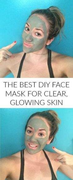 The Most Detoxifying DIY Face Mask For Clear, Glowing Skin - perfect mask for acne, big pores, breakouts and uneven skin tone!