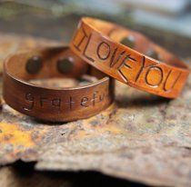 Give the man in your life something special with this cute tutorial on how to make a leather cuff with an extra special message. The Carved Leather Cuff is a great gift for any dad, but be careful not to let the kids around any carving tools.