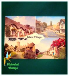 Vintage Isle Of Wight Postcard. Postcard. Vintage Postcard. Collectors. Postcard. Collectible Postcard. by TinkerbellVintage on Etsy