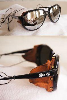vintage sunglasses RAY BAN ARCTiC CATs GLACiER by THRiFTBRiNGER, $150.00