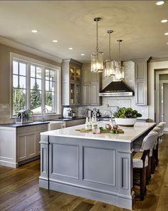 Grey Modern Kitchen Ideas Pinterest Kitchens Gray Kitchens - Grey themed kitchen