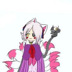 Mangle human. Style by Pole- Bear XD by Shintoro on DeviantArt