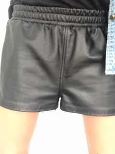 Leather All Sports Short  www.hideseekers.com