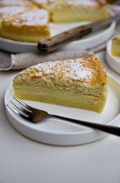 vanilla magic cake - torta magica alla vaniglia