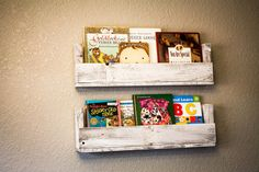 Cottage Chic Reclaimed Wood Bookshelves Set by DrakestoneDesigns