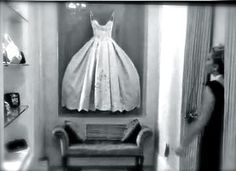Display wedding dress in your walk-in closet! AWESOME!! Saw this idea in Adrienne Maloof's closet on Real Housewives of Beverly Hills! Of course her closet is a room -or rather a small house! Why not?! Better than sitting in a box on a shelf!