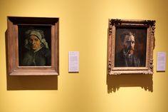 Artworks by Vincent van Gogh on display in the Noordbrabants Museum in #Hertogenbosch. #travel #Netherlands #Holland #Brabant #museums #art #Noordbrabantsmuseum #VanGogh125 #VanGogh2015