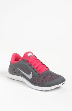 Nike 'Free 3.0 v5' Running Shoe (Women) available at #Nordstrom   Perfect For The Gym (:
