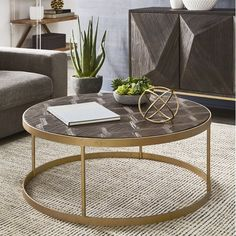 Coffee Table - Simple Guidelines To Help You Brew An Excellent Cup Of Coffee! Drum Coffee Table, Furniture, Round Coffee Table, Table, Cool Coffee Tables, Table Furniture, Round Gold Coffee Table, Coffee Table, Coffee Table Setting