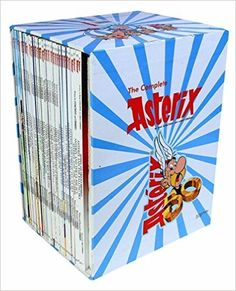 Written by Rene Goscinny and illustrated by Albert Uderzo (published by Orion Publishing, UK (Hachette)), this is a classic hilarious series of comics or graphic novels, where Asterix and Obelix get d
