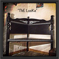 Bench...ThE GuiDare Bench Decor, Chair Bench, Entry Bench, Entryway Tables, Black Bench, Corner Bench, Handmade Crafts, The Ordinary, Repurposed