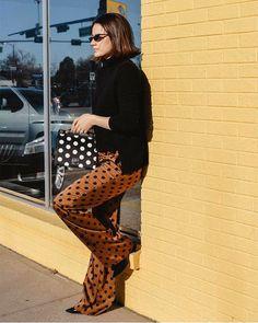 Cool polka-dot outfits