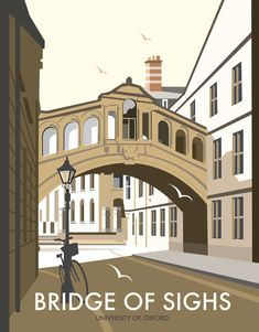 Bridge of Sighs, Oxford Art Print