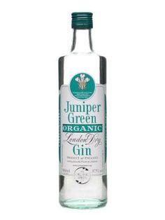 Juniper Green Gin - An organic London dry gin; sweet and creamy with good juniper: http://www.ginjourney.co.uk/gin-reviews/juniper-green-organic-gin/