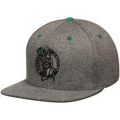 66f24b2c6 Mitchell   Ness Boston Celtics Gray Broad Street 2.0 Snapback Adjustable Hat  Boston Celtics Team
