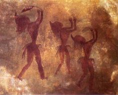 Libya, Tadrart Acacus Mountains, W. Sahara rock art