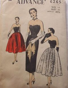 Vintage Pattern - My current sewing project