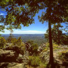 Indian Point Trail, Garden of the Gods Wilderness, Shawnee National Forest, Illinois Shawnee National Forest, Wilderness, Illinois, Trail, Hiking, Indian, Celestial, Sunset, Garden