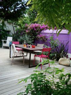 terrasse violette, Marseille, Slowgarden.