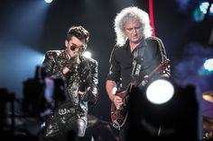 Adam Lambert + Queen Rock in Rio 2015