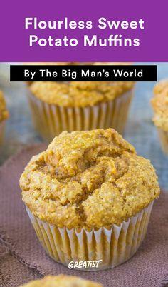 6. Flourless Sweet Potato Muffins #greatist http://greatist.com/eat/gluten-free-muffin-recipes