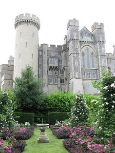 Arundel Castle in Arundel, West Sussex, England - Roger De Montgomery built this castle in 1067.  He was the 1st Earl of Shrewsbury appointed by William the Conqueror after taking over England (from Normandy in France) in 1066.