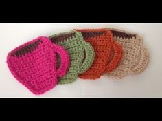 Crochet a Drink Coaster! - How to Crochet a Classic Round Motif - YouTube