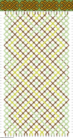 24 strings, 3 colors, 44 rows
