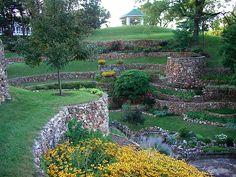built in 1927 and 1928, our Sunken Garden in a Landmark Preservation Area