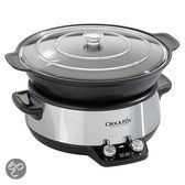 Crock Pot Slow Cooker Sauté CR0011, 6 liter