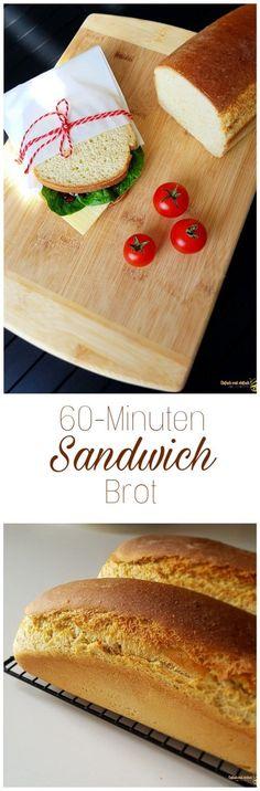 60-Minuten Sandwichbrot – Einfach mal einfach