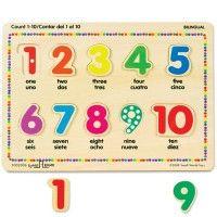 Counting Bilingual English Spanish Puzzle