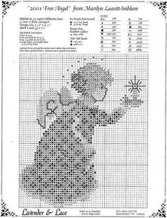 [Chart for 2001 Christmas Angel]