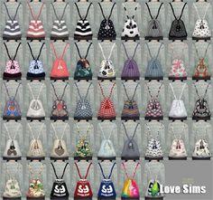 рюкзак для Симс 4