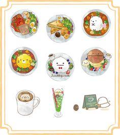 Cute Food Drawings, Cute Animal Drawings Kawaii, Kawaii Art, Soft Wallpaper, Kawaii Wallpaper, Cute Food Art, Cute Art, Friendship Art, Kawaii Cooking