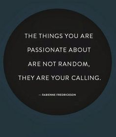 Go for them  #passion
