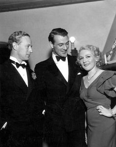 Leslie Howard, Gary Cooper and Mary Pickford