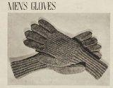 Knit Men's Gloves Pattern - Pattern to Knit a Pair of Men's Gloves - Knitting Patterns for Gloves