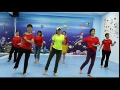 Demo: Terry Li and Terry's students Instructor: Terry Li Choreographer: Molly Yeoh (Malaysia) Oct 2016 easy beginner level Music: Rivers of B. Skin Treatments, Senior Fitness, Dance Lessons, Health Diet, Good Skin, Rivers, Healthy Exercise, Student, School