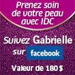 Visitez la page Facebook du magazine Gabrielle du 28 juin au 22 août et inscrivez-vous au concours pour prendre soin de votre peau pour l'été. De plus, « aimez » notre page, partagez-la sur les réseaux sociaux et augmentez vos chances de gagner !