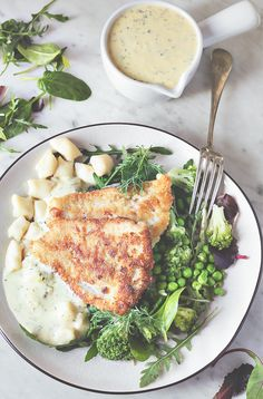 Gnocchi, Lemon Caper Sauce, Camembert Cheese, Almond, Fish, Blog, Recipes, Food Recipes, Almond Joy
